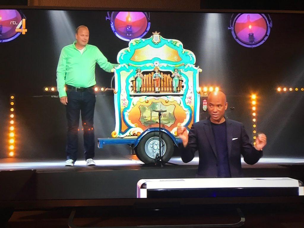 draaiorgel bij RTL4