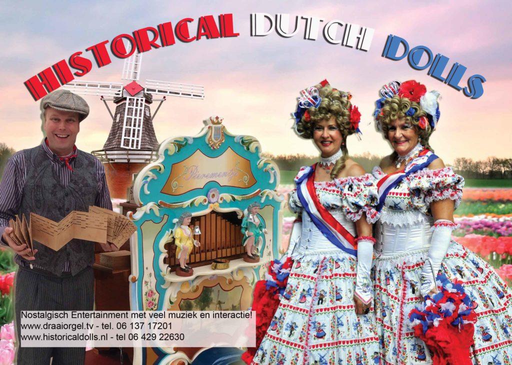 ouderenprogramma historical dolls draaiorgel draaiorgeltje